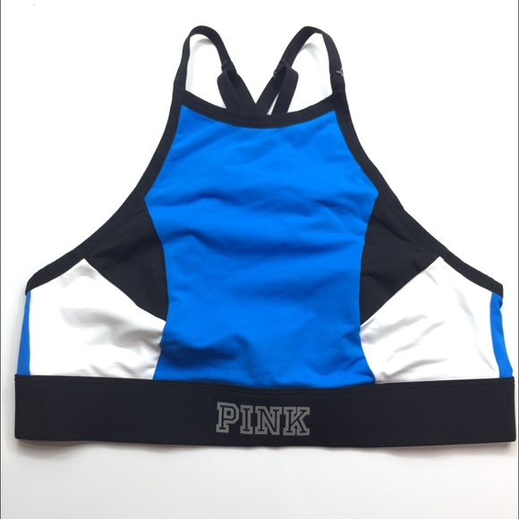 786e758422 🛍PINK VS Ultimate Unlined High-Neck Sports Bra NWT